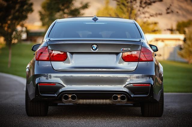 BMW, zadní část