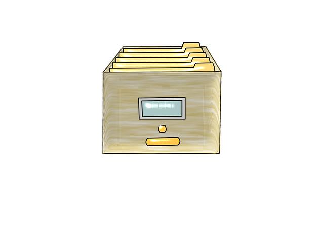kancelářské dokumenty
