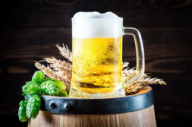 orosené pivo