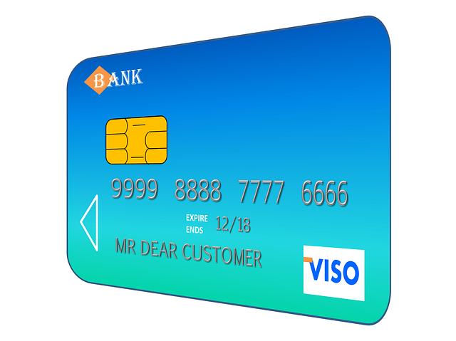 modrozelená kreditka